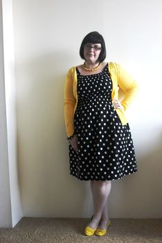amazing dress. pinned from my favorite online community: fatshionista.livejournal.com