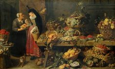 Frans Snyders - Fruit Stall.