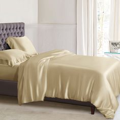 25 Momme Silk Bed Linens, Silk Sheets and Duvet Covers