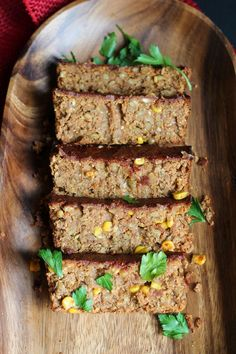 Oat-Free vegan Spicy Barbecue Lentil Loaf with cornmeal instead of oats. - This will be good, I just know it.