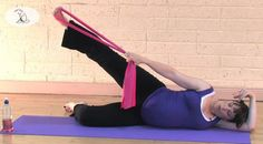 Pregnancy Pilates (full workout). Nice for those who can't do their usual high intensity workouts because of the bump.