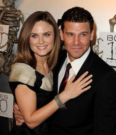 Photo of Fox Celebrates Bones 100th Episode for fans of Demily. Red carpet…