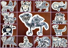 Mythological Creatures for ancient Greece.  Maybe draw slips of paper to combine different animals?
