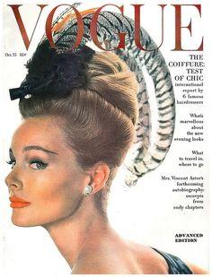 Monique Chevalier, Vogue US, October 1962.