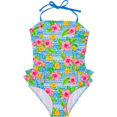 O'Rageous Girls' Tropic Wanderer Swimsuit (Blue, Size 16 Youth) - Youth Swim, Girl's Swim at Academy Sports Design Girl, My Design, 1 Piece Swimsuit, Girls Bathing Suits, Swimsuits, Swimwear, Girl Outfits, Swimming, One Piece