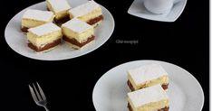"""Egy kedves ismerősömtől, Margitkától kaptam ennek a finom süteménynek a receptjét, de azt ne kérdezzétek hogy miért is """"repülő krémes""""... Pasta Cake, French Toast, Cheesecake, Goodies, Baking, Breakfast, Food, Sweet Like Candy, Morning Coffee"""