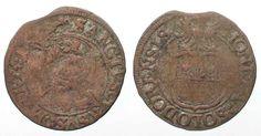 1623 Schweiz - Solothurn Swiss SOLOTHURN 1/2 Batzen 1623 billon aVF RARE!!! #…