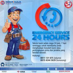 Pintu Atau Jendela Anda Bermasalah ??? Hubungi Kami Untuk Pelayanan Tercepat Dan Terbaik Dari Kami 24 Jam Non Stop Teknisi Kami Akan Selalu Melayani Anda Dalam Situasi Dan Keadaan Apapun….  Informasi Hub. : Ibu Tika 0812 8567 7070 ( WA / Telpon / SMS ) 0819 0506 7171 ( Telpon / SMS )  Email : digitalmarketing@kenaridjaja.co.id  [ K E N A R I D J A J A ] PELOPOR PERLENGKAPAN PINTU DAN JENDELA SEJAK TAHUN 1965  SHOWROOM :  JAKARTA & TANGERANG 1 Graha Mas Kebun Jeruk Blok C5-6 Telp : (021) 536…