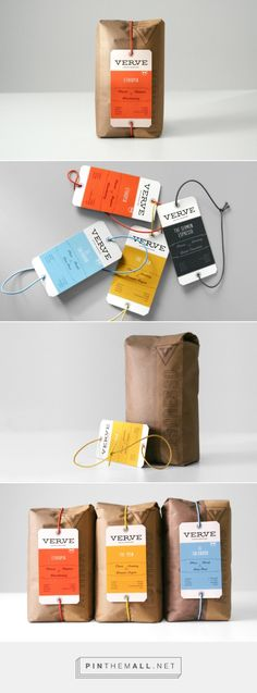 Packaging Design Verve Coffee Roasters packaging by Un-Studio