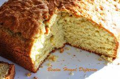 portakallı mısır unlu kek