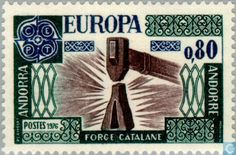 Andorra - French - Europe – Handicrafts 1976