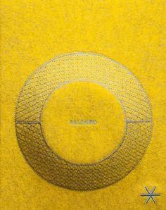 # Button Circle Felt Geometry Soft Speakers Textile / Fabric