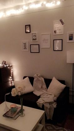 Landon Hall Dorm Room At Michigan State University. Black And White Framed  Gallery Wall Featuring Part 71