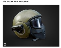Check out this 3D model of the Shark Helmet