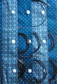 Rechte Seite - Katrines Strick-Nadel-Tasche