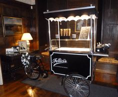 Our lovely trike at the stunning Knowsley Hall