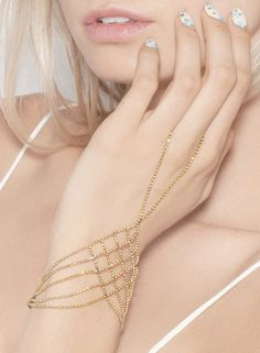 2813db68a74 Delicate hand chain --pretty don t know if I would wear it.