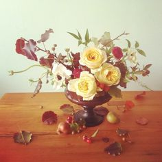 Ariel Dearie Flowers: Autumn