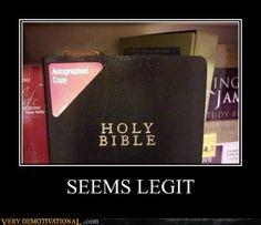 Autographed Bible
