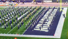 Husky Marching Band on Game Day