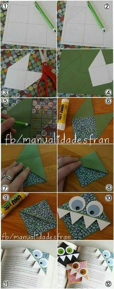 Hoe maak je een boekenlegger