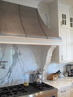How about something like this for our country chic kitchen range hood?