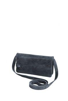 Frauentaschen :: MILLA :: ML2 | ZWEI Taschen Portemonnaie :: Tasche :: Leder :: blau :: 2 in 1