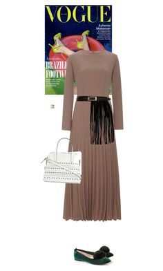 """""""Untitled #1994"""" by wizmurphy ❤ liked on Polyvore featuring Esme Vie, River Island, Kate Spade, VaVa and Valentino"""