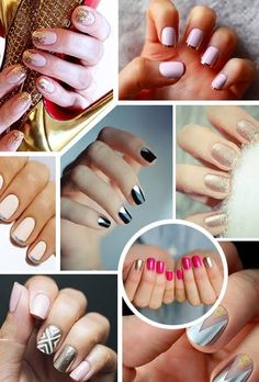 Best Metallic Nail Art And Manis For Brides | Wedding Dresses Style | Brides.com
