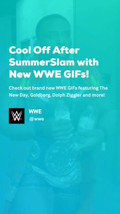 Check out brand new WWE GIFs featuring The New Day, Goldberg, Dolph Ziggler and more! Wwe Gifs, Dolph Ziggler, New Day, Lol, Cool Stuff, News, Funny, Brand New Day, Funny Parenting