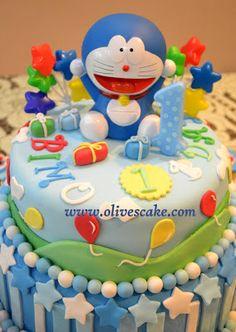 Doraemon Birthday Cake Images Download : 1000+ images about tarta - Doraemon on Pinterest ...