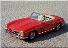 beautiful vintage mercedes convertible