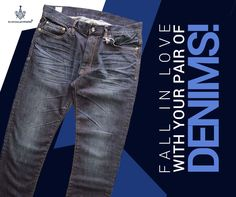 """Make yourself fall in love with your new pair of Denims from Blue Line! Denim Branding, Blue Line, Pairs, Twitter, Fall, How To Make, Clothes, Fashion, Autumn"
