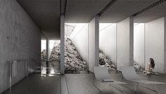 Imagen 5 de 13 de la galería de XLII, propuesta finalista en concurso de ideas para el nuevo balneario de la Fuente Santa / España. Fotografía de Equipo Finalista