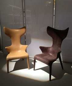 Sessel Lou Read von Driade, Design Philippe Starck and Eugeni Quitllet, Salone di mobile 2015