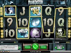 Hrací automaty Frankenstein zdarma - Na hracím automatu Frankenstein zdarma se setkáte s velmi známou hororovou postavou Frankenstein, která Vás zabaví i svou skvělou grafikou a zaujme symboly a množstvím výherních bonusů. #HraciAutomaty #VyherniAutomaty #Jackpot #Vyhra #Frankenstein
