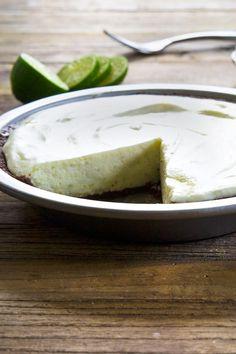 No Bake Gluten Free Key Lime Pie - Gluten-Free on a Shoestring