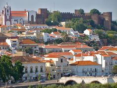 Looks like some travelling is in order... The city of Silves. Cidade de Silvas. Silves was the capital of the Algarve during Moorish rule..