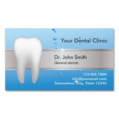 Professional Dental Appointment Double-Sided Standard Business Cards (Pack Of 100). Make your own business card with this great design. All you need is to add your info to this template. Click the image to try it out!
