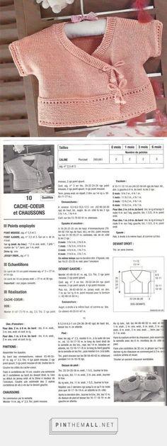 COPRIFASCE rosa  e scarpine    ferri 2,5 e 3    misure 0-1-3-6 mesi | La Maglia di Marica... - a grouped images picture