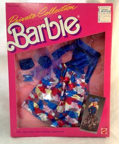 Barbie Private Collection Fashions Spectacular Fashions 1987 4512 | eBay