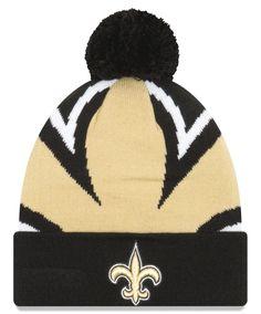 81069b46e New Orleans Saints New Era Youth Logo Whiz 3 Cuffed Knit Hat - Black. NFL  Caps   Hats