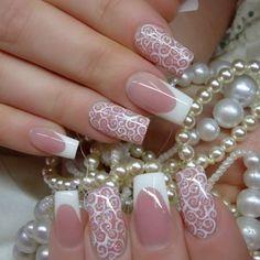 Stylish Pink Nail Art