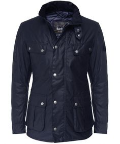Shop the Barbour Waxed Duke Jacket online. Fast worldwide delivery or  collect in store for free. b0d0065f3828