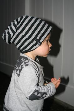 Beau Hudson, baby slouchy beanie, lucky palm tree, organic baby clothes, baby boy style fashion