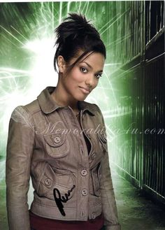 Freema Agyeman ... I dunno what I like about her the most: 1. She was on Dr. Who with one of the best Gallifreyans to play the role (Tom Baker being #1 :D), David Tennant 2. She is gorgeous 3. Chicks with brit accents are a turn-on