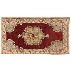 "Check out this item at One Kings Lane! Turkish Oushak Rug, 3'7"" x 6'4"""