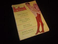 Vintage August 1954 Redbook Magazine - Judy Garland!