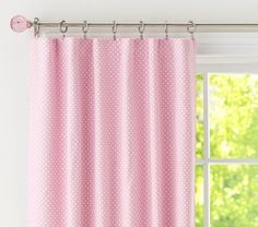 Great black out curtains to make the room really dark and still look stylish. #potterybarnkids