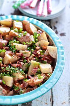 Skinny Bacon Potato Salad